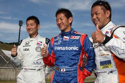 Les pilotes japonais Roger Yasukawa, Dreyer & Reinbold Racing, Hideki Mutoh, Andretti Green Racing,