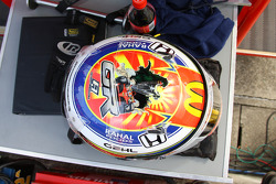 Casque de Graham Rahal, Newman/Haas/Lanigan Racing