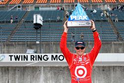 Le poleman Scott Dixon, Chip Ganassi Racing