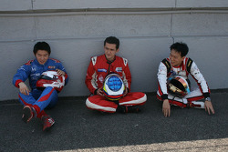 Daisuke Nakajima, Carlos Huertas et Kevin Chen
