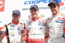 Sam Bird, Jules Bianchi y Esteban Gutiérrez
