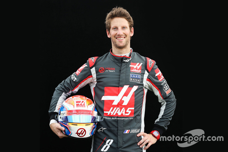 #8 Romain Grosjean, Haas F1 Team