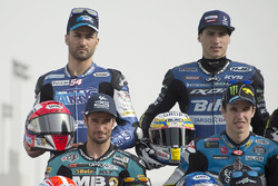 Mattia Pasini, Italtrans Racing Team, Kalex; Xavi Vierge, Tech 3 Racing, Tech 3; Simone Corsi, Speed Up Racing, Speed Up; Alex Marquez, EG 0,0 Marc VDS, Kalex;