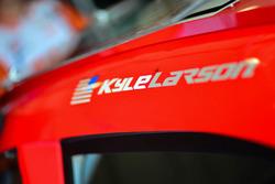 Detail, Kyle Larson, Chip Ganassi Racing, Chevrolet
