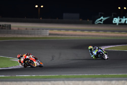 Marc Marquez, Repsol Honda Team, Honda and Valentino Rossi, Movistar Yamaha MotoGP, Yamaha