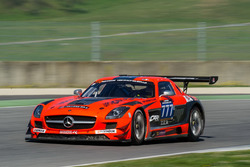 #777 MP Sports, Mercedes SLS AMG GT3: Martin Prokop, Robert Kubica, Quirin Müller, Paul White, Thomas Onslow-Cole