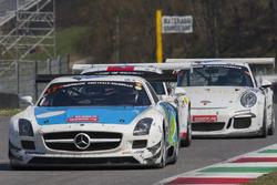#17 IDEC SPORT RACING, Mercedes SLS AMG GT3: Patrice Lafargue, Paul Lafargue, Gabriel Abergel, Sacha Bottemanne