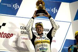 Podium: Race winner Thomas Lüthi, Garage Plus Interwetten, Kalex