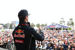 Daniel Ricciardo, Red Bull Racing talks to fans with Will Buxton, NBC Sports