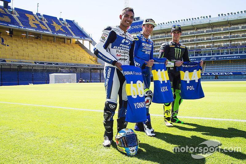 Yonny Hernández, Aspar Racing Team, Aleix Espargaró, Team Suzuki MotoGP, Pol Espargaró, Monster Yamaha Tech 3
