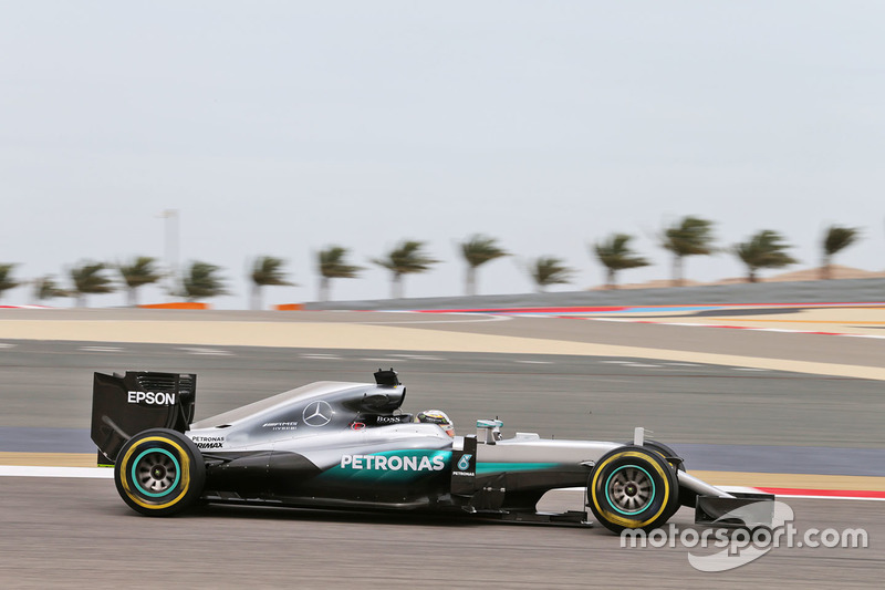 Lewis Hamilton, Mercedes AMG F1 Team W07