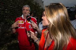 Maurizio Arrivabene Ferrari sunday meeting