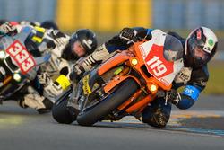 #119 Yamaha: Vincent Houssin, Alexandre Perrault, Charles Diller