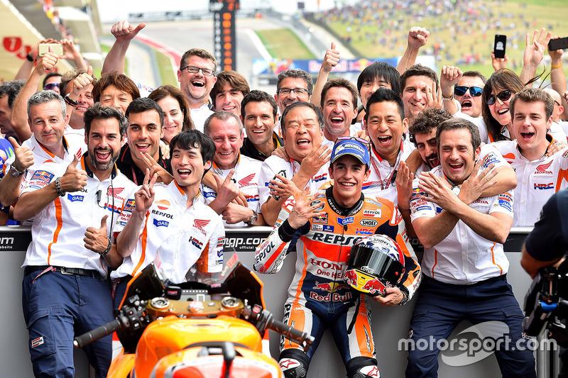 Ganador de la carrera, Marc Marquez, Repsol Honda Team