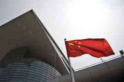 Флаг Китая в паддоке