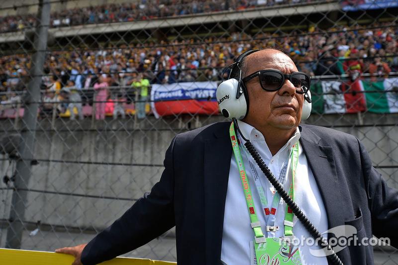 Antonio Perez, padre de Sergio Pérez, Sahara Force India F1