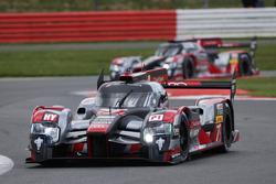 Marcel Fassler, Andre Lotterer, Benoit Treluyer, #07 Audi Sport Team Joest Audi R18