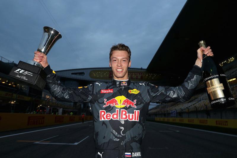 Подиум на Гран При Китая стал для Квята вторым в карьере