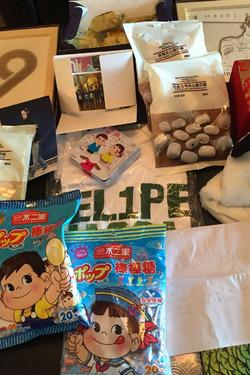 Merchandising chinês dedicado a Felipe Massa