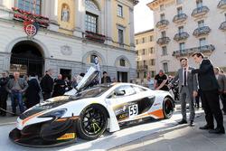 Alex Fontana, McLaren 650S GT3, Marco Borradori, Lugano