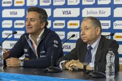 Alejandro Agag, Director Ejecutivo de la Fórmula E y Jean Todt, Presidente de la FIA