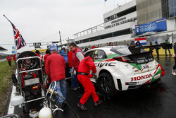 Роб Хафф, Honda Racing Team JAS, Honda Civic WTCC