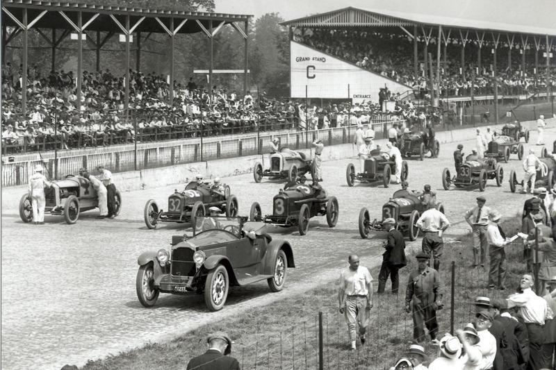 Startaufstellung 1919
