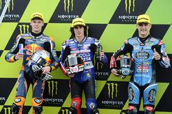 Polepositie voor Niccolo Antonelli, Ongetta-Rivacold, tweede Brad Binder, Red Bull KTM Ajo, derde Aron Canet, Estrella Galicia 0,0