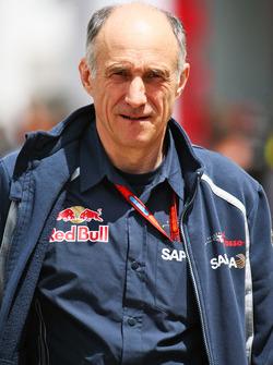 Франц Тост, руководитель Scuderia Toro Rosso