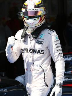 Обладатель поула - Льюис Хэмилтон, Mercedes Petronas AMG F1