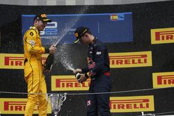 Nicholas Latifi, DAMS and Pierre Gasly, PREMA, Racing