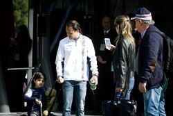 Felipe Massa, Williams, mit seiner Familie