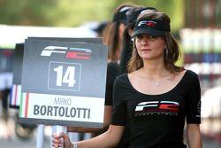 Grid girl for Mirko Bortolotti
