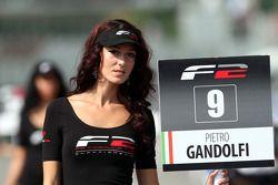 Grid girl for Pietro Gandolfi