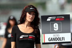 Grid girl for Pietro Gandolfi