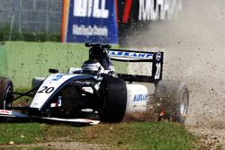 Jens Hoing: erreur en début de course