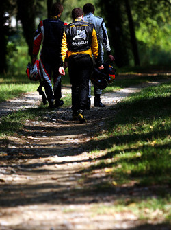 Pietro Gandolfi marche après son abandon