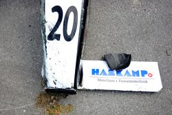Race One accident damage