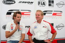 Andy Soucek and Jonathan Palmer Motorsport Vision Chief Executive