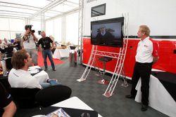 Jonathan Palmer Motorsport Vision Chief Executive