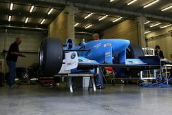 Jean Alesi's former F1 Benetton B197