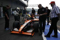 #7 Tony Hansford, Lucas Oils, VES Racing, F1 Arrows A22 TWR 3.0 V10