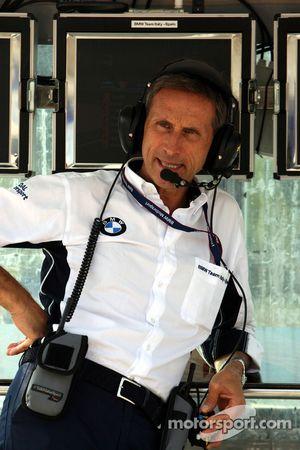 Roberto Ravaglia, Team Manager, BMW Team Italy-Spain ROAL Motorsport