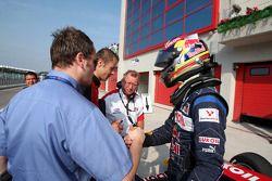 Race two pole sitter Robert Wickens