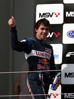 Robert Wickens fête son podium
