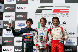 Podium: Robert Wickens, Andy Soucek et Milos Pavlovic