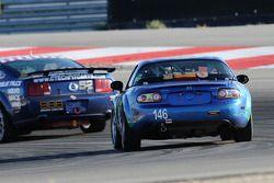 #146 Freedom Autosport Mazda MX-5: Andrew Carbonell, Rhett O'Doski