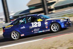 #129 Next Generation Motorsports BMW 330: VJ Mirzayan, Byron Payne