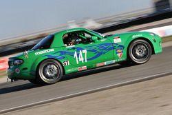 #147 Freedom Autosport Mazda MX-5: Sarah Cattaneo, Deborah Loth