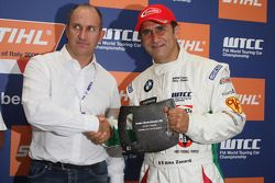 Alex Zanardi, BMW Team Italy-Spain, BMW 320si obtiene el